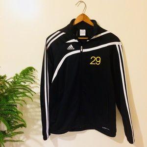 Women's Adidas Track Jacket Large